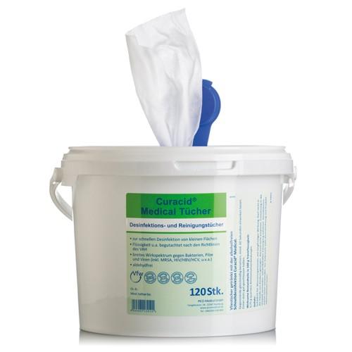 Curacid Aktiv Desinfektionstücher XL Refill