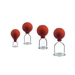 Saugglocke aus Glas mit Ball