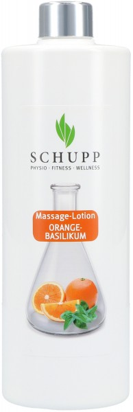 Massage-Lotion Orange-Basilikum - 500 ml