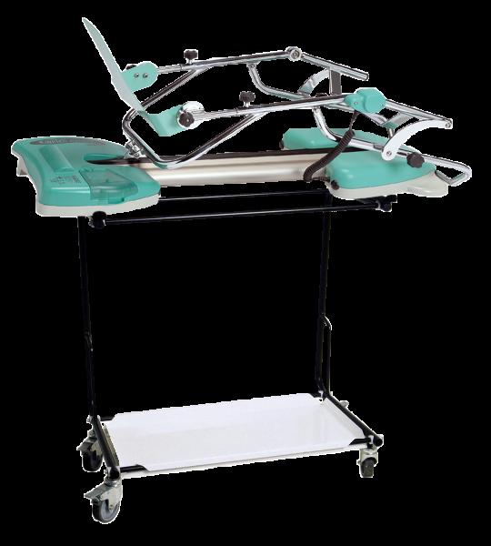 Universaltransportwagen für die Bewegungsschiene Knie/Hüfte