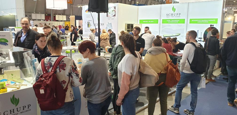 Erfolgreicher Auftakt - SCHUPP auf der TheraPro 2020 in Stuttgart