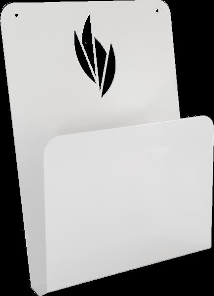 Wandhalterung für Einmal-Nasenschlitztücher