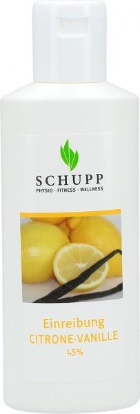Citrone-Vanille Einreibung 45%