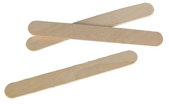 Einmalspatel aus Holz