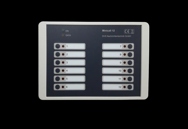 Minicall-12 - Patienten-Notrufanlage Basis