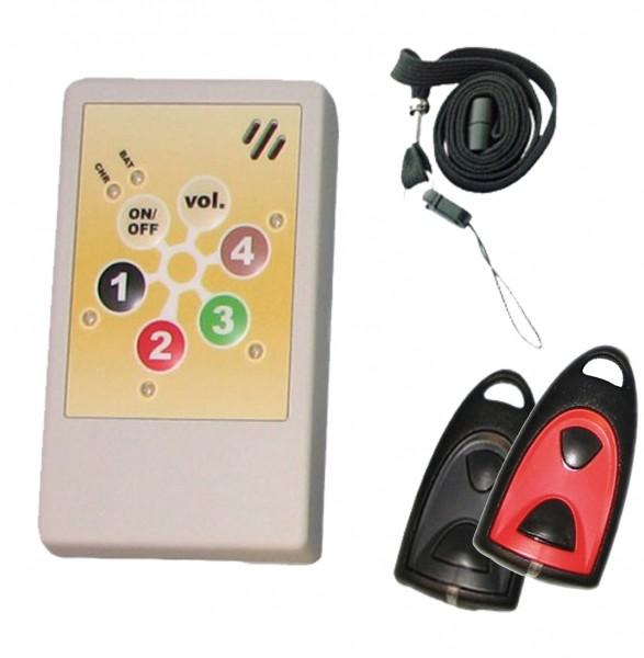 Helpline Praxis Set 2.0 - Patienten-Notrufanlage (CE)