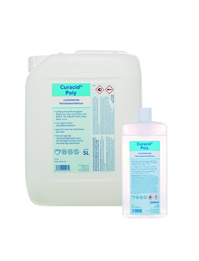 Curacid Poly Händedesinfektion