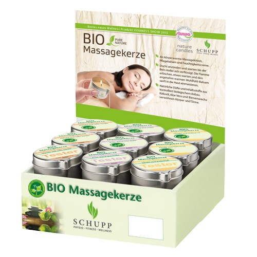 Bio-Massagekerzen