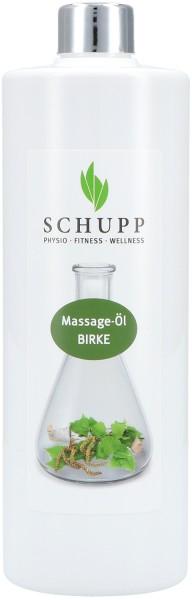Massage-Öl Birke - 500 ml