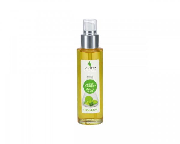 Aroma-Massageöl Limette-Minze - 100 ml