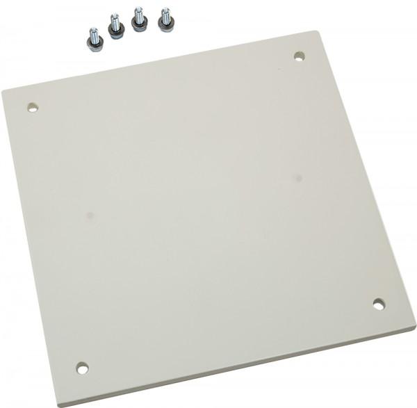 Montageplatte für Rotlichtstrahler
