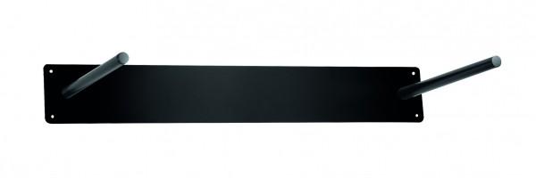 Metall Wandaufhängung schwarz