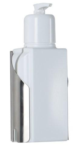 Spenderflasche mit Wandhalterung
